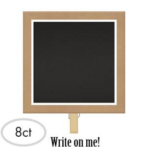 Chalkboard Clips 8ct