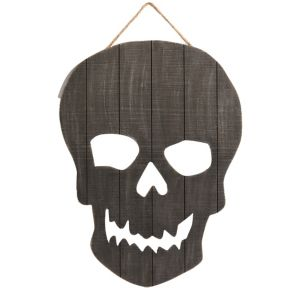 Scary Skull Sign