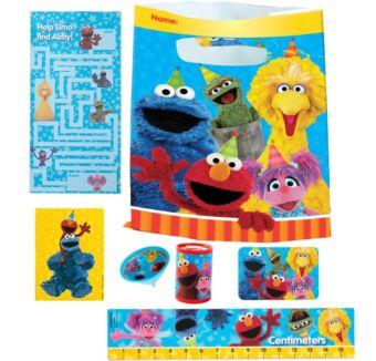 Sesame Street Basic Favor Kit for 8 Guests