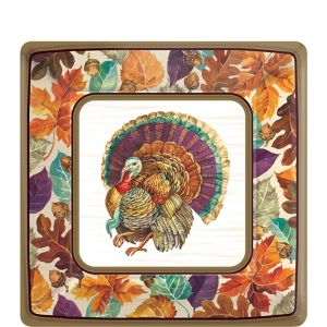 Traditional Thanksgiving Dessert Plates 8ct