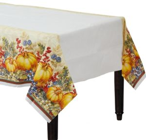 Warm Harvest Table Cover