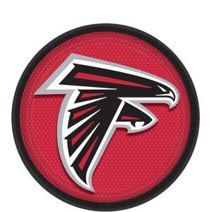 Atlanta Falcons Dessert Plates 18ct