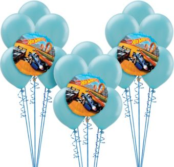 Hot Wheels Balloon Kit