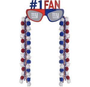 New York Giants Sunglasses With Pom-Poms
