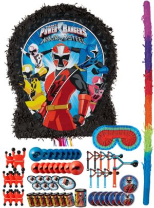 Power Rangers Pinata Kit with Favors