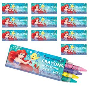 Little Mermaid Crayon Boxes 48ct
