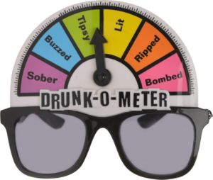 Drunk-O-Meter Sunglasses