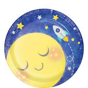 Moon & Stars Dessert Plates 8ct