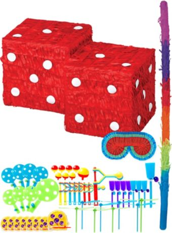 Dice Pinata Kit with Favors