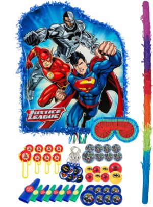 Justice League Pinata Kit with Favors