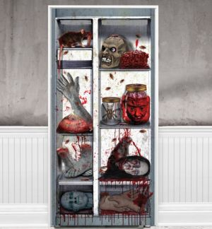 Bloody Body Parts Refrigerator Door Cover