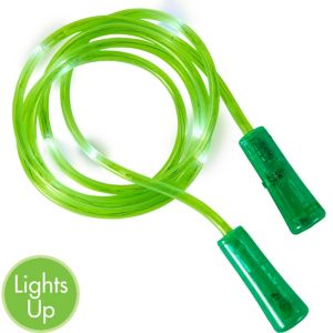 Light-Up Green Jump Rope