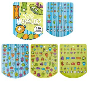 Jumbo Silly Monsters Sticker Book 8 Sheets