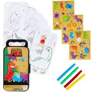 Dinosaur Sticker Activity Box