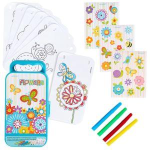 Flowers Sticker Activity Box