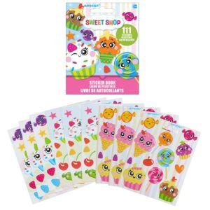 Sweet Shop Sticker Book 9 Sheets