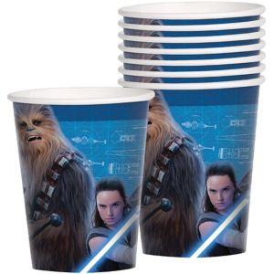 Star Wars 8 The Last Jedi Cups 8ct