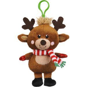 Clip-On Reindeer Plush