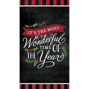 Most Wonderful Time Guest Towels 36ct