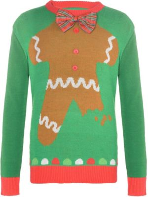 Child Gingerbread Man Ugly Christmas Sweater