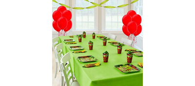 Pixelated Basic Party Kit for 8 Guests