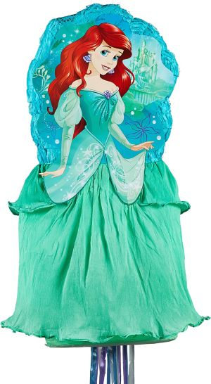 Pull String Ariel Pinata Deluxe - The Little Mermaid