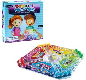 Dreidel Pop n' Spin Board Game