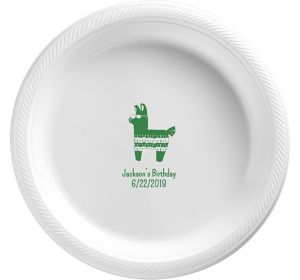 Personalized Boys Birthday Plastic Dinner Plates