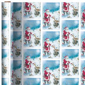 Santa & Friends Gift Wrap