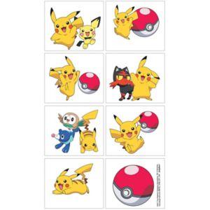 Pokemon Core Tattoos 1 Sheet
