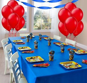 Mickey Mouse Roadster Basic Party Kit for 8 Guests