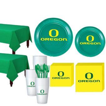 Oregon Ducks Basic Party Kit for 40 Guests