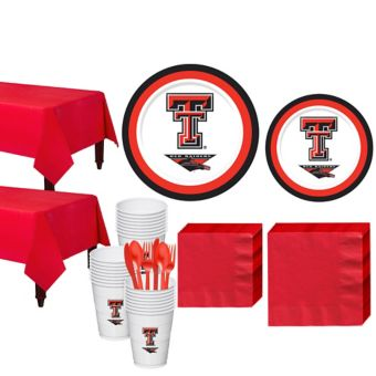 Texas Tech Red Raiders Basic Party Kit for 40 Guests