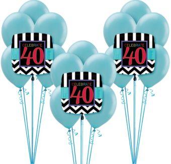 Celebrate 40 Birthday Balloon Kit