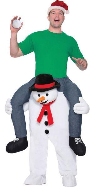Adult Snowman Ride-On Costume