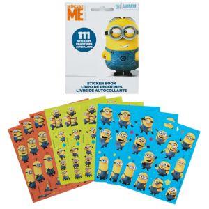 Despicable Me Sticker Book 9 Sheets