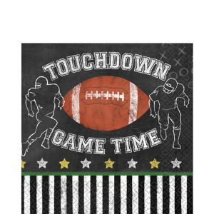 Football Game Time Lunch Napkins 36ct
