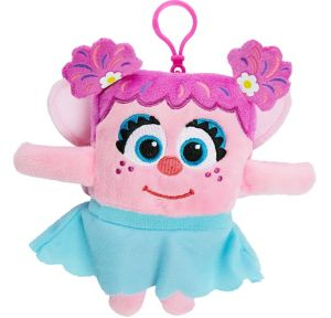 Clip-On Square Abby Cadabby Plush - Sesame Street
