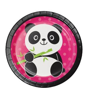 Panda Dessert Plates 8ct