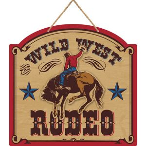 Yeehaw Western Wild West Rodeo Sign