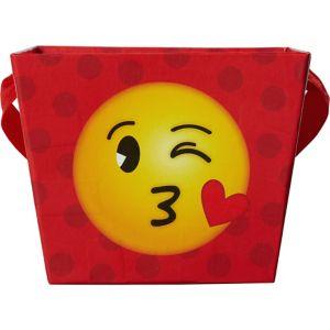 Smiley Square Basket