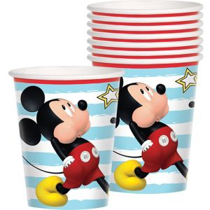 Mickey Mouse Cups 8ct