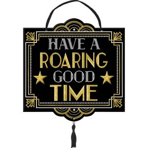 Glitter Hollywood Roaring Good Time Sign