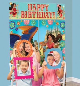Elena of Avalor Photo Booth Kit with Photo Booth Frames