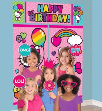 Hello Kitty Photo Booth Kit with Props