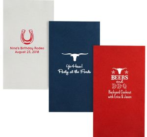 Personalized Summer Premium Guest Towels
