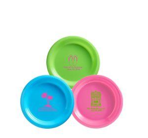 Personalized Luau Plastic Dessert Plates