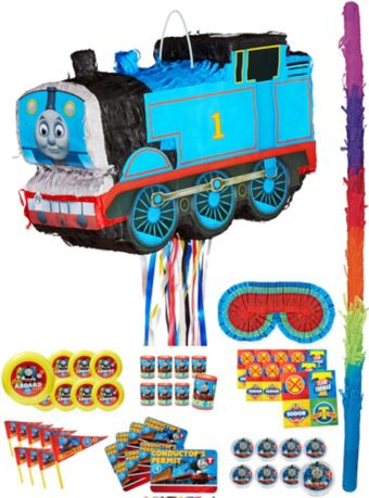 Thomas the Tank Engine Train Pinata Kit with Favors