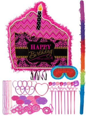 Fabulous Birthday Pinata Kit with Favors