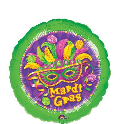 Mardi Gras Balloon - Masquerade
